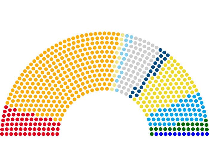 Elezioni 4 marzo i dati definitivi il nuovo terraglio for Camera dei deputati xvii legislatura